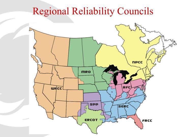 Regional Reliability Councils