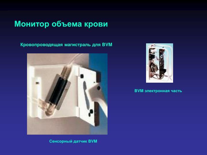 Монитор объема крови