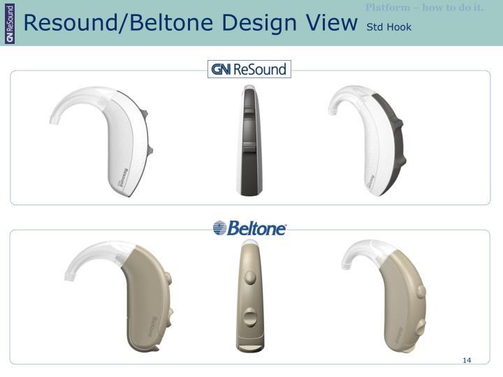Resound/Beltone Design View