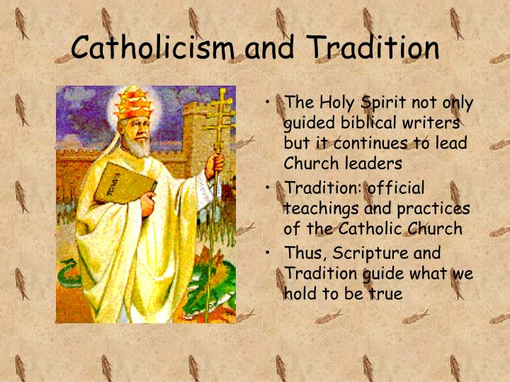 Catholicism and Tradition