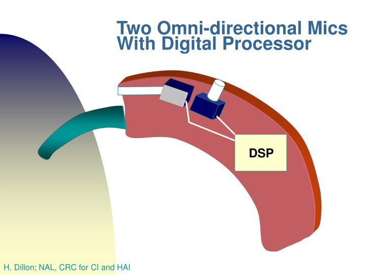 Two Omni-directional Mics With Digital Processor