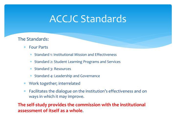ACCJC Standards