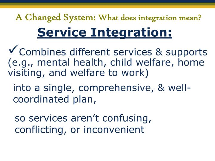 A Changed System: