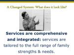 a changed system what does it look like5