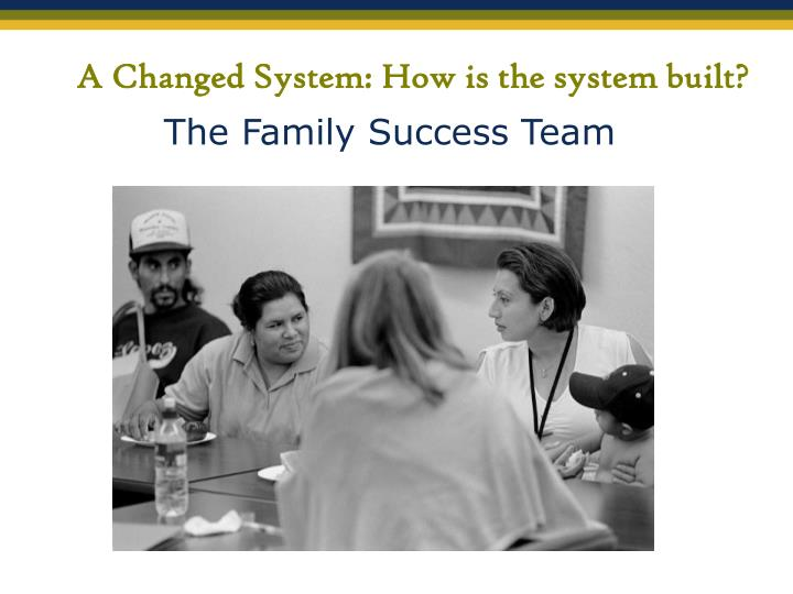 A Changed System: How is the system built?
