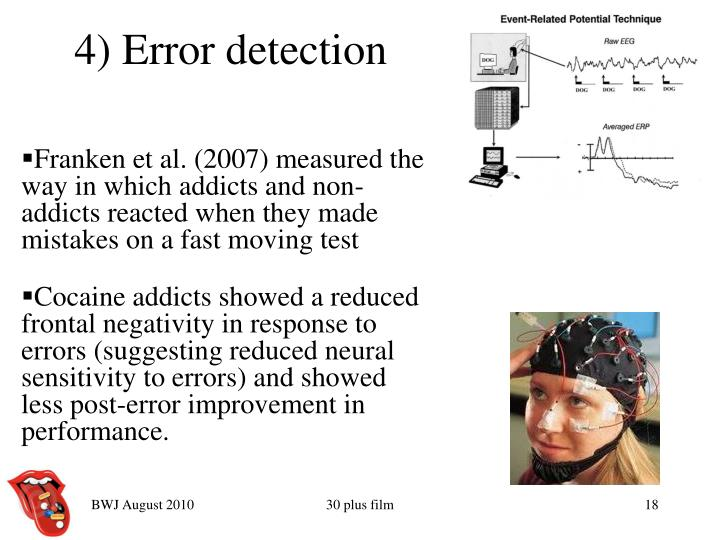 4) Error detection