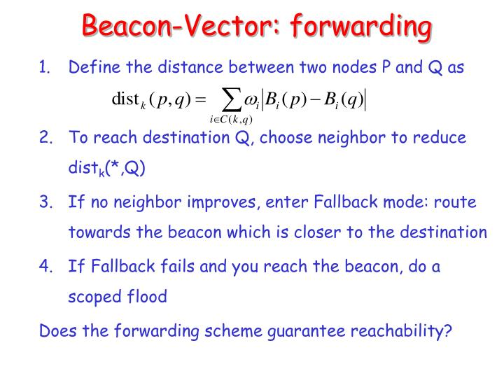 Beacon-Vector: