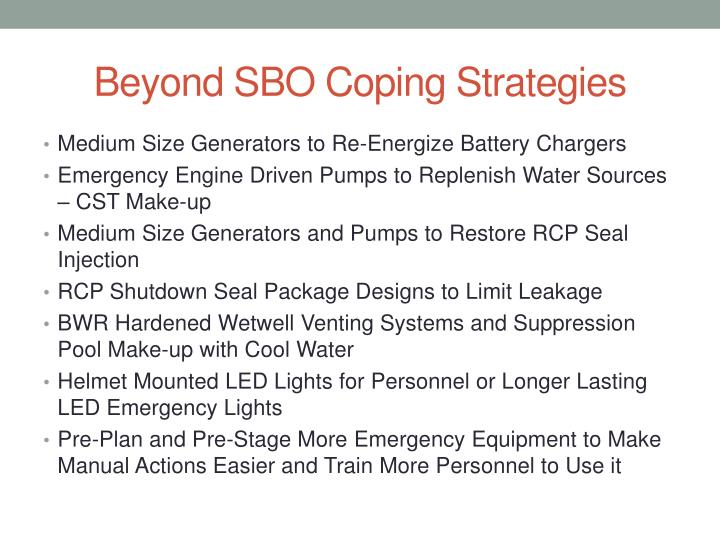Beyond SBO Coping Strategies