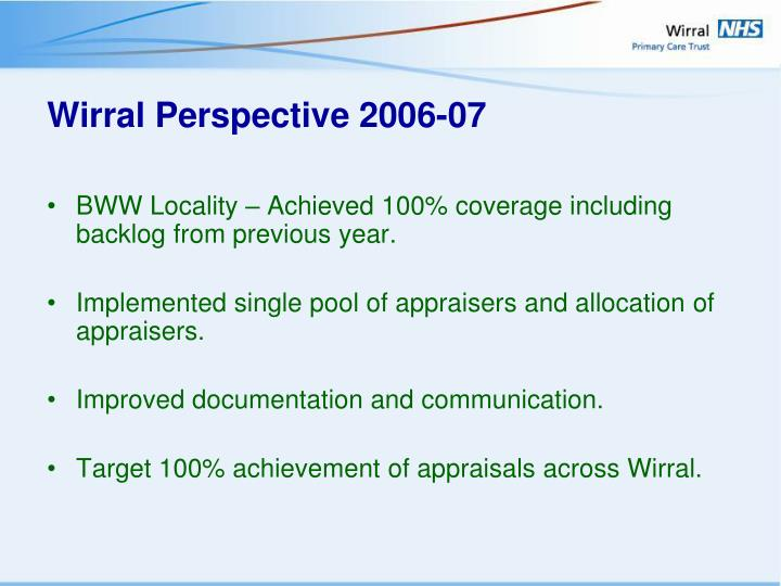Wirral Perspective 2006-07