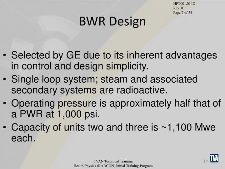 BWR Design