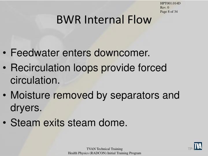 BWR Internal Flow