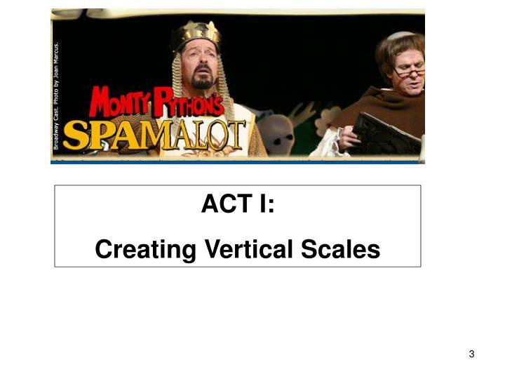 ACT I: