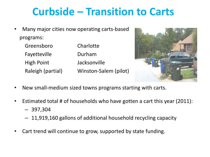 Curbside – Transition to Carts