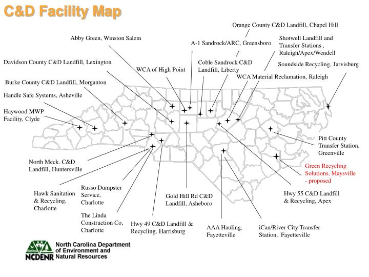 C&D Facility Map