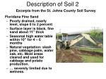 description of soil 2