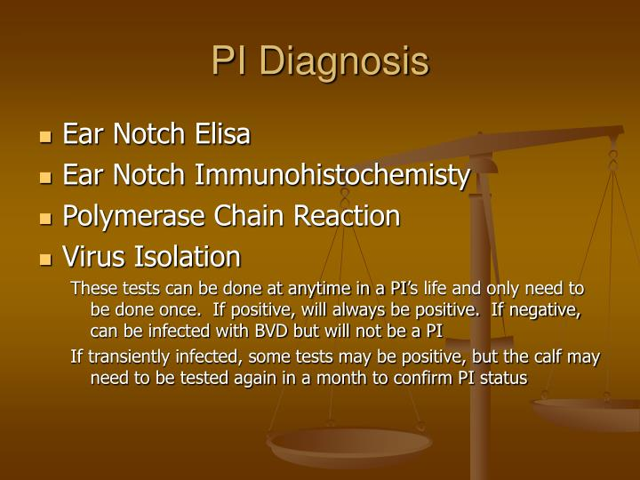 PI Diagnosis