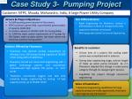 case study 3 pumping project