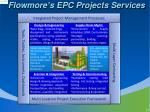 flowmore s epc projects services