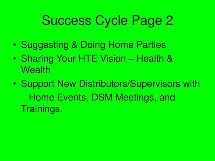 Success Cycle Page 2