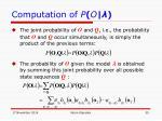 computation of p o2