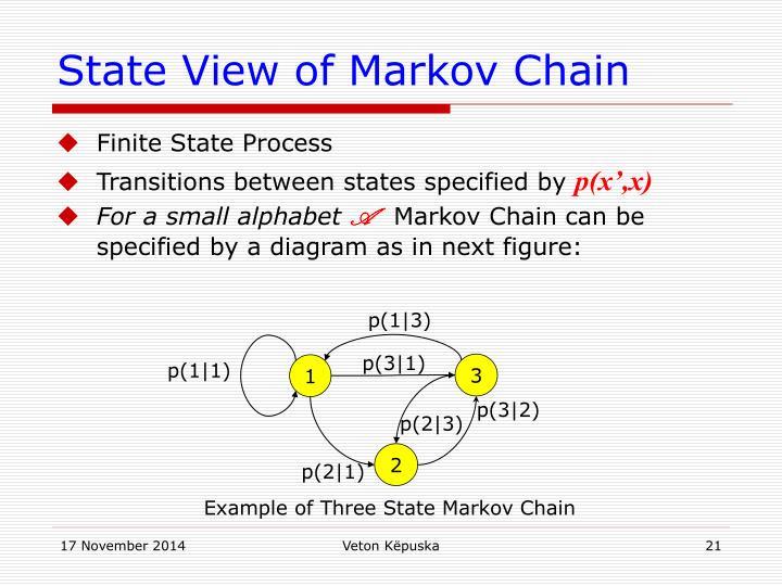 State View of Markov Chain
