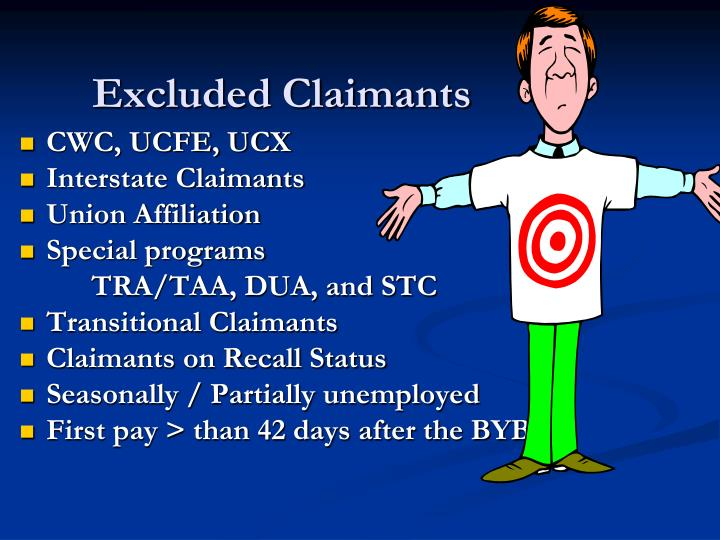 Excluded Claimants