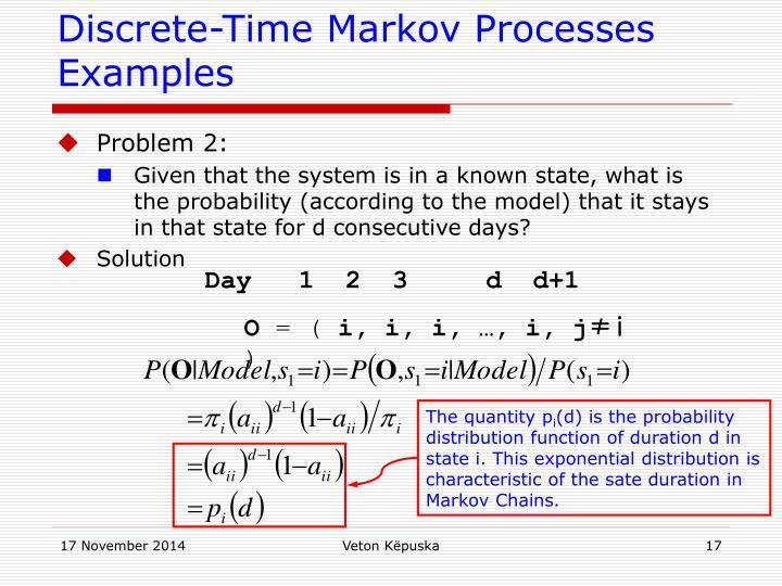 Discrete-Time Markov Processes Examples