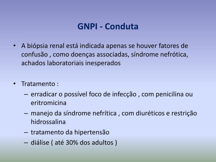 GNPI - Conduta