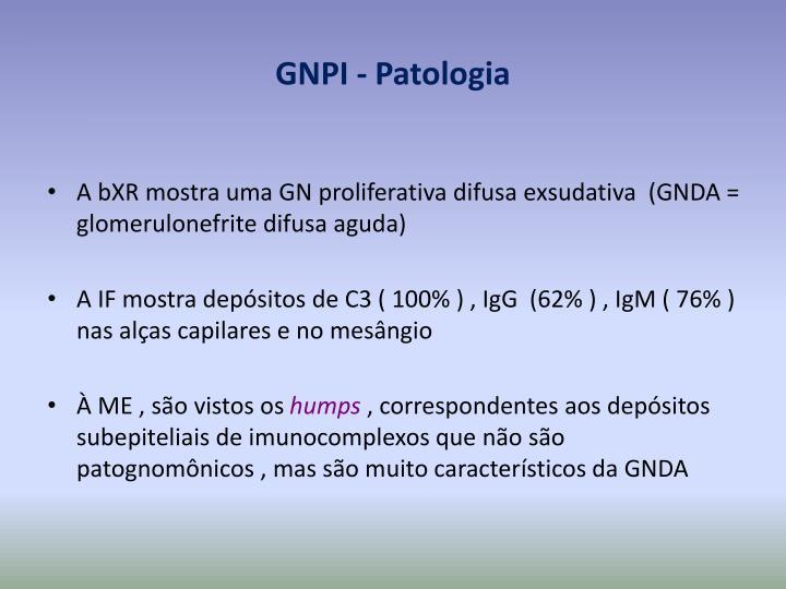 GNPI - Patologia