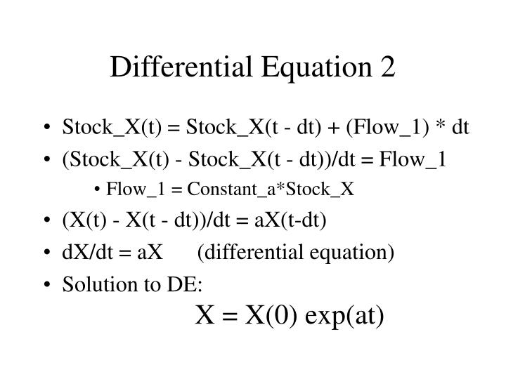 Differential Equation 2