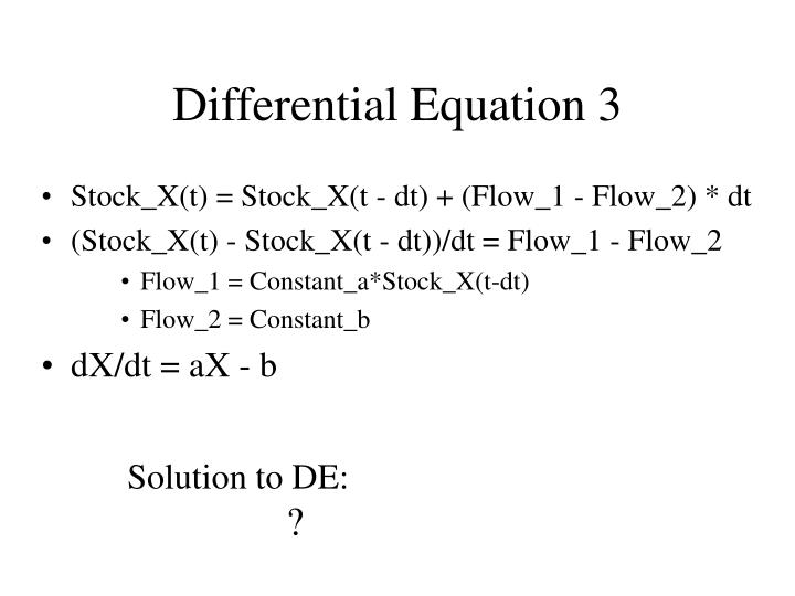 Differential Equation 3