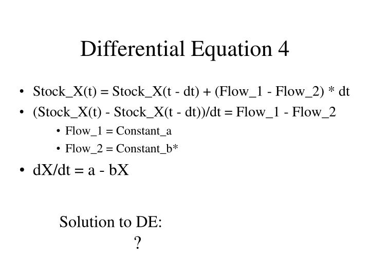 Differential Equation 4