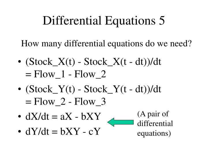 Differential Equations 5