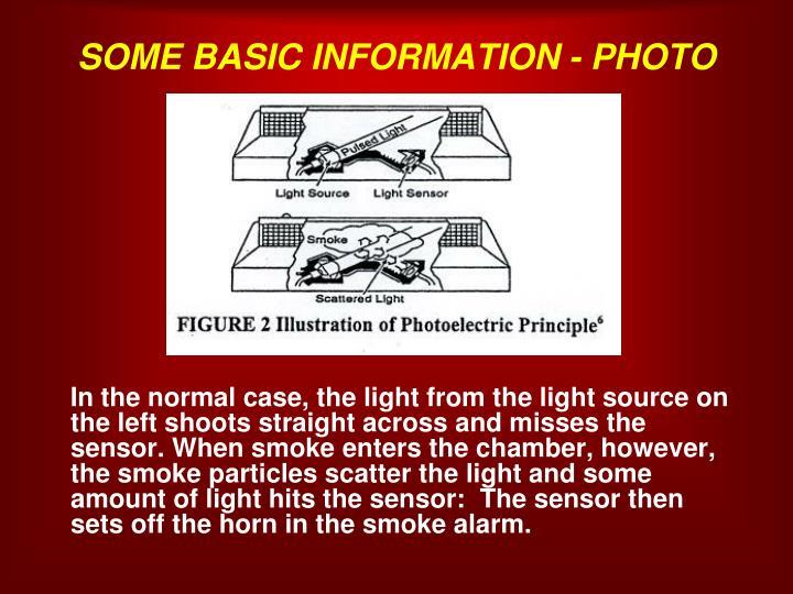 SOME BASIC INFORMATION - PHOTO