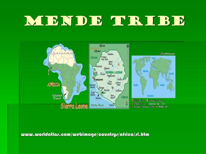 Mende tribe