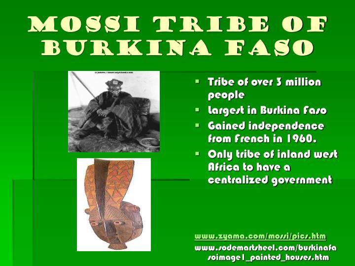 Mossi tribe of Burkina Faso