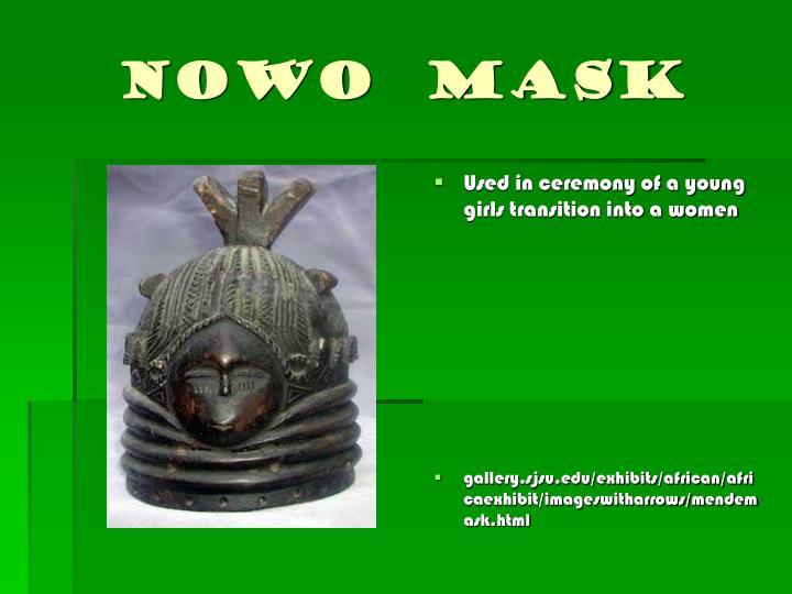 Nowo  Mask