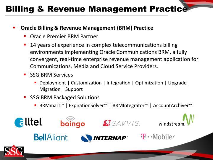 Billing & Revenue Management Practice