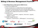 billing revenue management practice