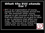 what the byc stands for