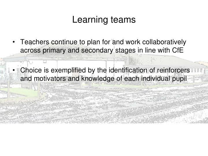 Learning teams