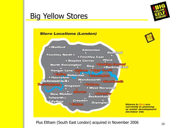 Big Yellow Stores