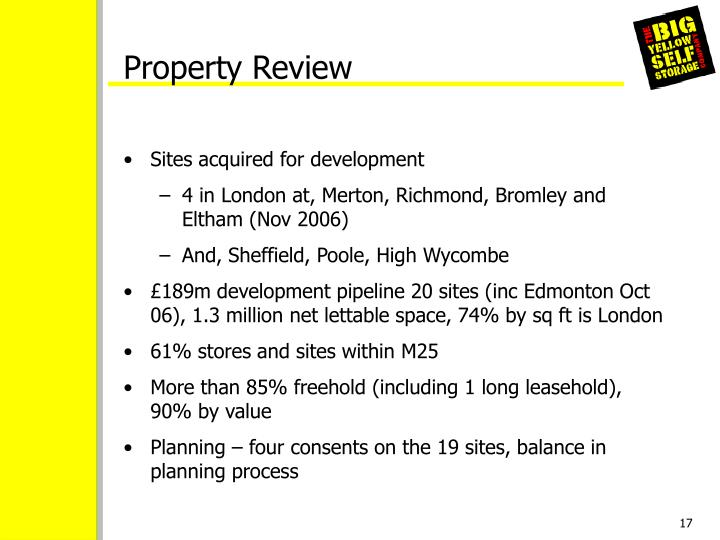 Property Review