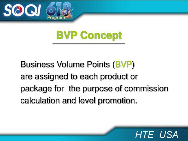 BVP Concept