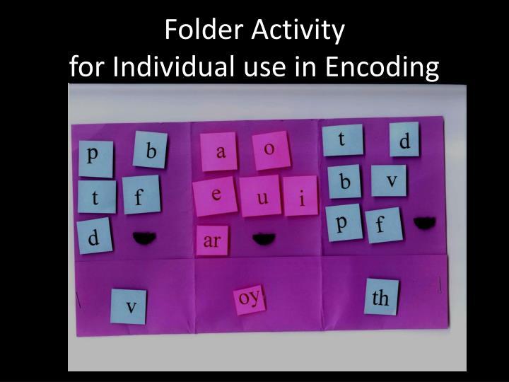 Folder Activity
