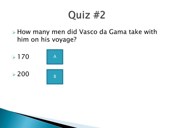 Quiz #2