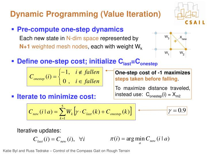 Dynamic Programming (Value Iteration)