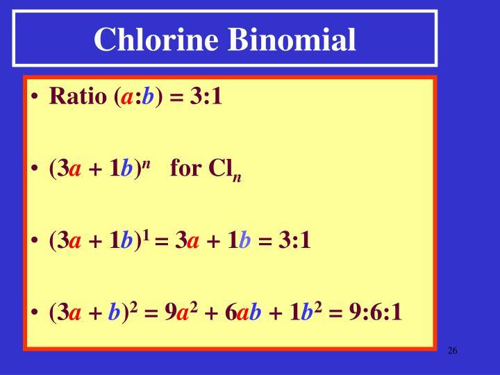 Chlorine Binomial