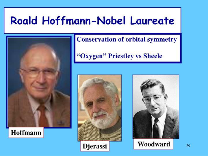 Roald Hoffmann-Nobel Laureate