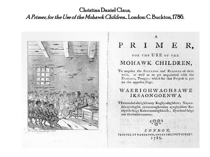 Christian Daniel Claus,